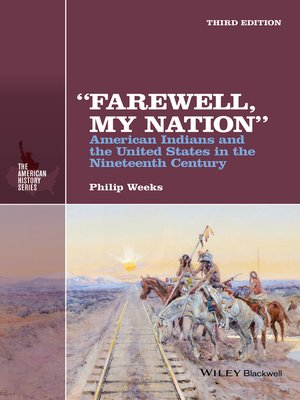 "cover image of ""Farewell, My Nation"""